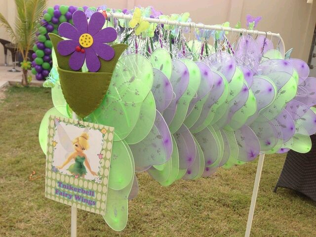 ideas para decorar fiesta de cumpleaos de campanita
