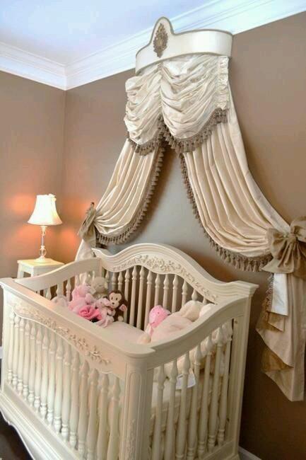 Ideas para decorar habitaciones para bebe ni a 16 for Decoracion de bebe nina