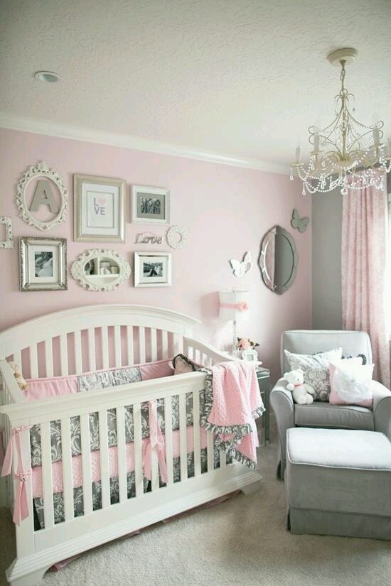 Ideas Para Decorar Habitaciones Para Bebe Nina 17 Curso De - Habitaciones-de-nia-bebe
