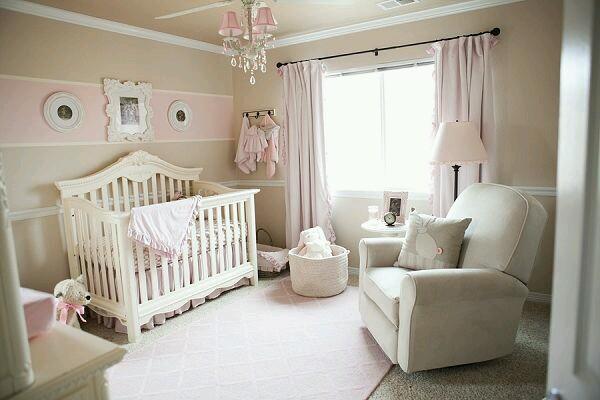 de bebe nia habitacin decorada para un nio