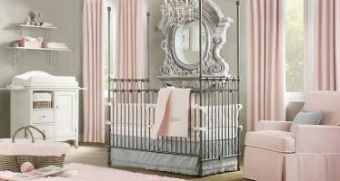 Ideas para decorar habitaciones para bebe niña