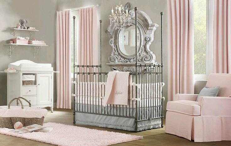Ideas Para Decorar Habitaciones Para Bebe Nina 20 Curso De - Decoracion-habitacion-de-bebe-nia