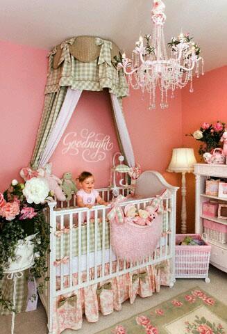 Ideas para decorar habitaciones para bebe ni a 6 curso for Decoracion pared bebe nina
