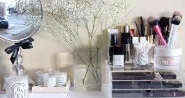 Ideas para organizar productos de higiene personal y maquillaje