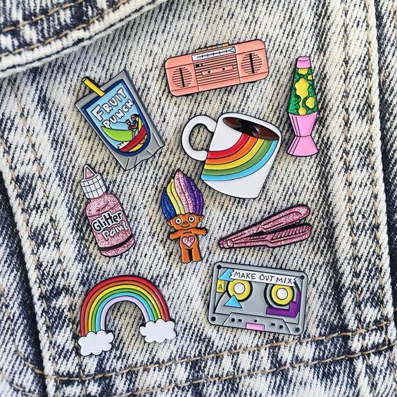 Looks con parches en tu ropa - tendencia 2016