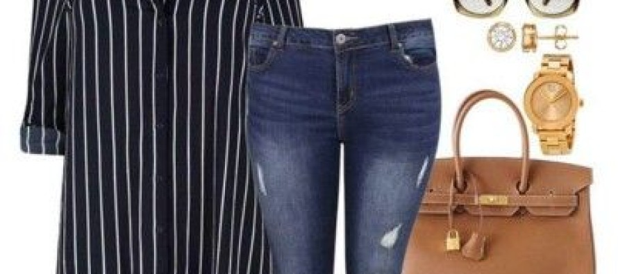 Outfits completos super fashion para chicas plus size