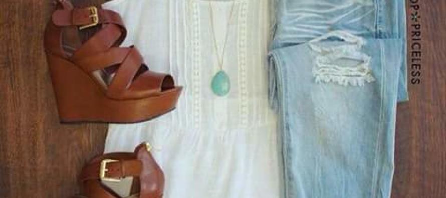 Outfits con sandalias de plataforma – ideales para salir de compras o pasear