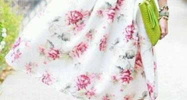 Prendas floreadas, el mejor outfit para el verano