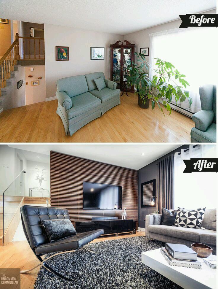 Remodela tu hogar sin gastar de mas antes y despues 15 - Decoracion de casas antes y despues ...