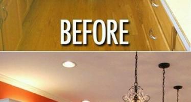 Remodela tu hogar sin gastar de mas – Antes y despues