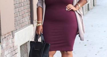 Vestidos casuales para chicas con curvas
