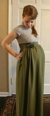 Vestidos casuales para embarazadas
