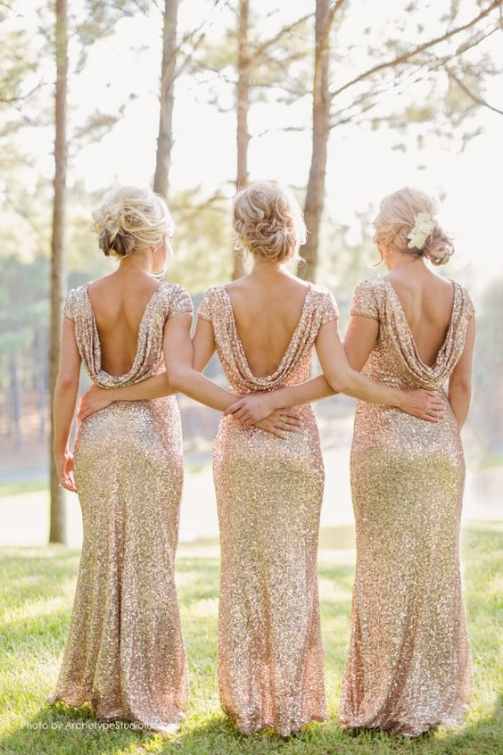 Vestidos sexys para damas de honor
