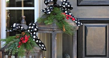 Adornos navideños para tu puerta
