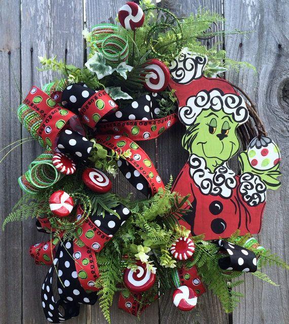 Adornos navidenos para tu puerta 19 curso de for Arreglos navidenos para puertas 2016