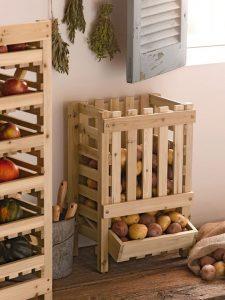 Como organizar frutas y verduras