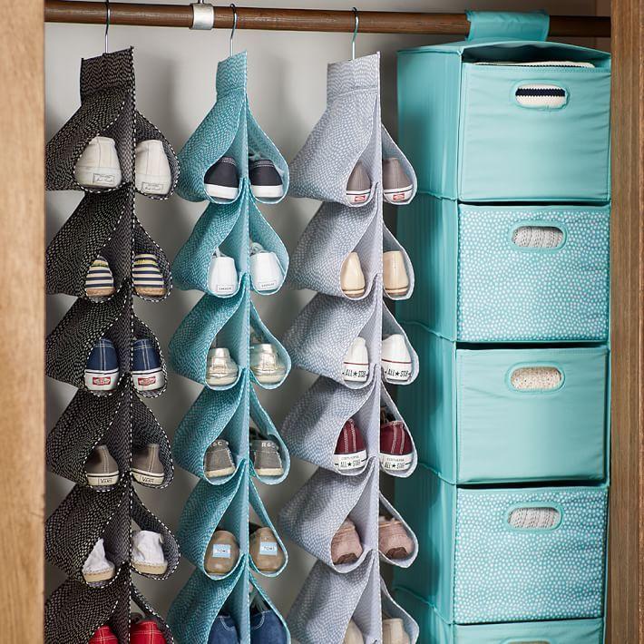 Como organizar zapatos f cilmente 16 curso de organizacion del hogar y decoracion de interiores - Como hacer un organizador de zapatos casero ...