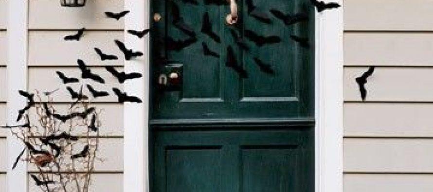 Decoración de exteriores para halloween