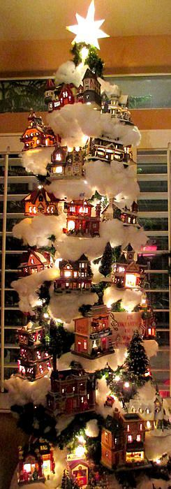 Decoraciones muy originales de pinos navide os 2016 3 for Decoraciones de hogar 2016