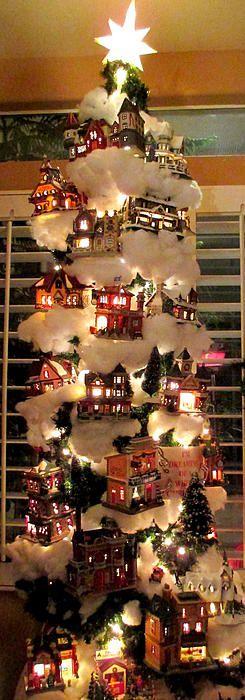 Decoraciones muy originales de pinos navide os 2016 3 for Decoracion de hogar 2016