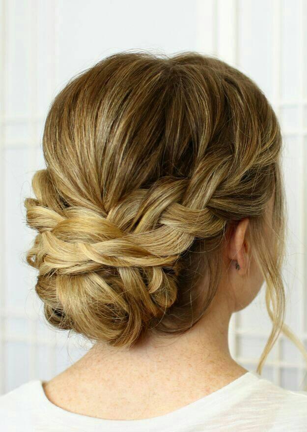Divinos peinados recogidos con trenza 5 curso de - Semirecogidos con trenzas ...