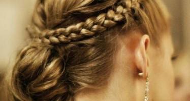 Divinos peinados recogidos con trenza