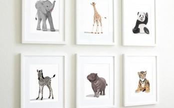 Elementos decorativos para habitaciones de bebé