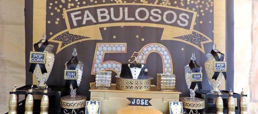 Fiesta de 50 a os para hombre curso de organizacion del for Decoracion salon 50 anos hombre