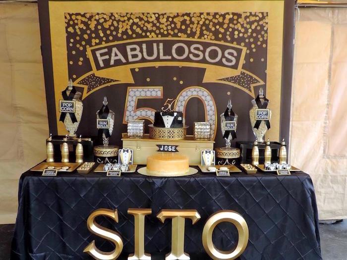 Fiesta De 50 Anos Para Hombre 5 Curso De Organizacion