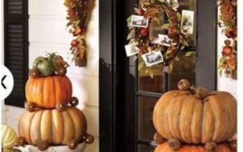 Ideas de decoración para otoño 2016-2017