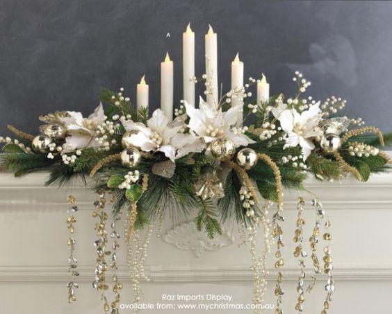 Ideas para decorar con velas en navidad 16 curso de for Decoracion del hogar con velas