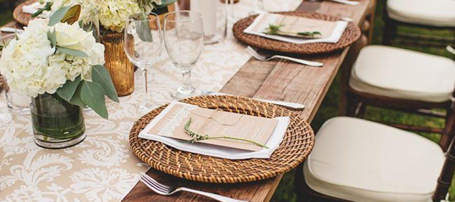 Ideas para decorar mesas en una boda