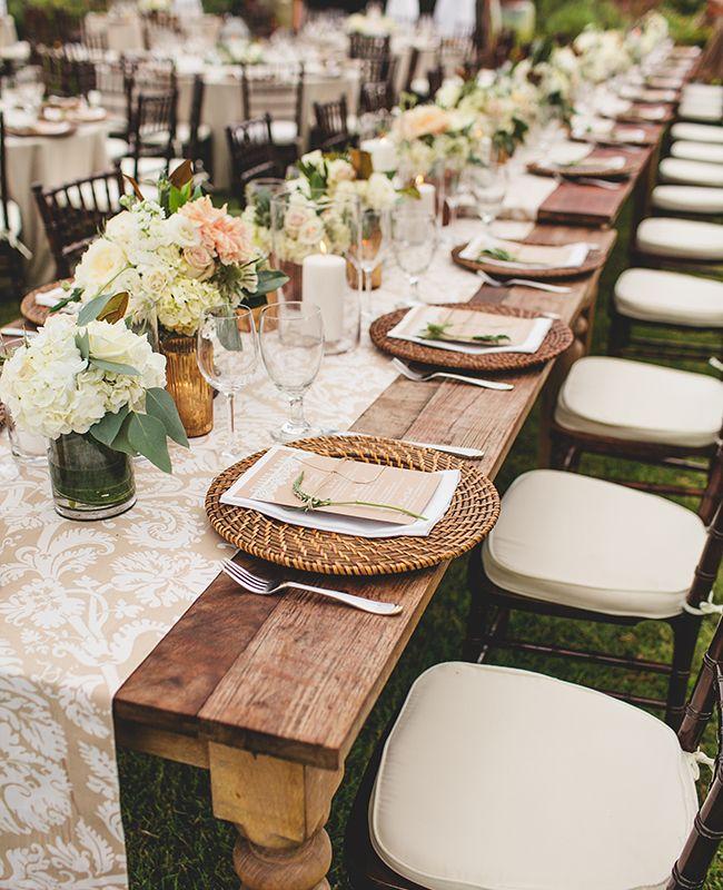 Matrimonio Rustico Elegante : Ideas para decorar mesas en una boda curso de