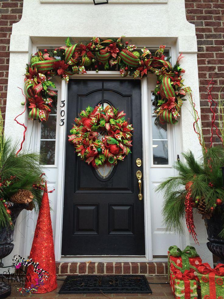Ideas Para Decorar Tu Puerta De Navidad 12 Curso De
