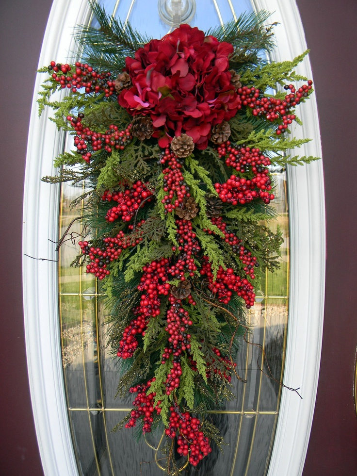 Ideas para decorar tu puerta de navidad 26 curso de for Ideas para adornar puertas en navidad