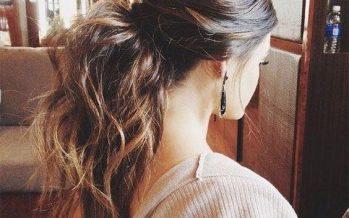 Lindos peinados con cola de caballo