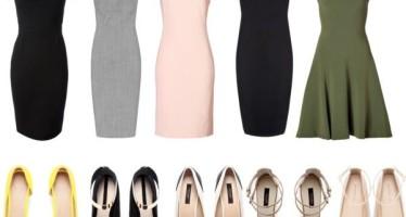 Outfits con vestido ideal para oficina