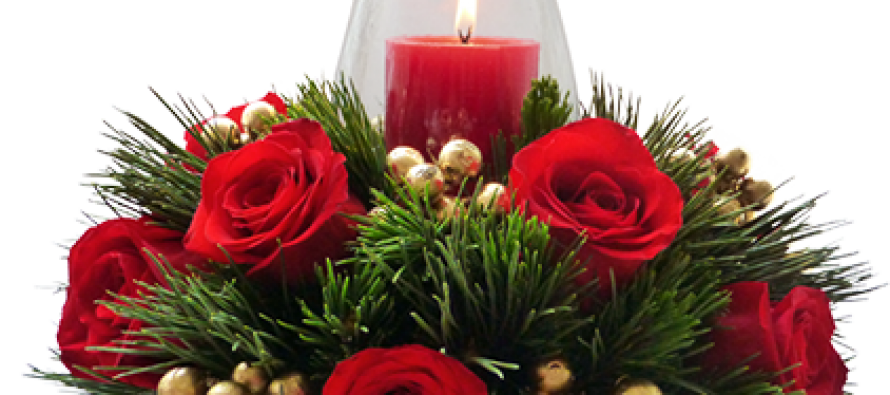 DIY para armar un arreglo Floral Navideño