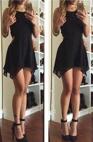 Chicas con vestidos cortos facebook