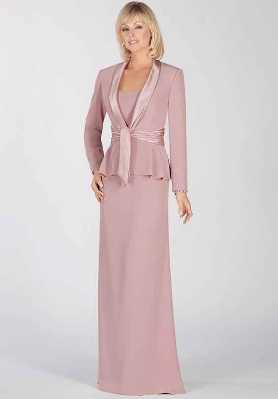 Vestidos de gala para mujeres mayores – Vestidos de noche elegantes ...