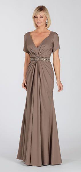 vestidos de fiesta largos para señoras mayores