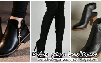 Bellas botas y botines que te encantarán