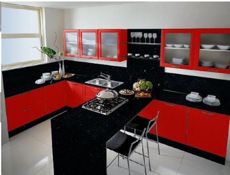 decoracion-de-interiores-cocinas-en-color-rojo-19 - Curso de ...