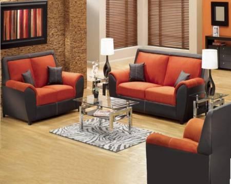 Decoracion de salas de estar en color naranja 7 curso de for Decoracion hogar naranja