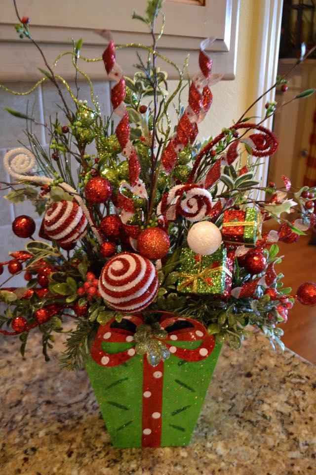 Decoraciones navidenas para la mesa 1 curso de - Decoracion de mesas navidenas ...