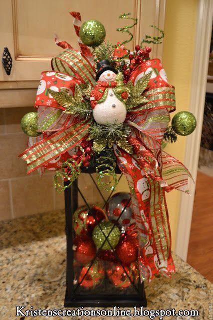Decoraciones navidenas para la mesa 13 curso de - Decoracion de mesa navidena ...