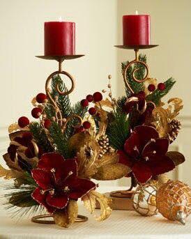 Decoraciones navidenas para la mesa 20 curso de organizacion del hogar y decoracion de interiores - Decoracion navidena para el hogar ...