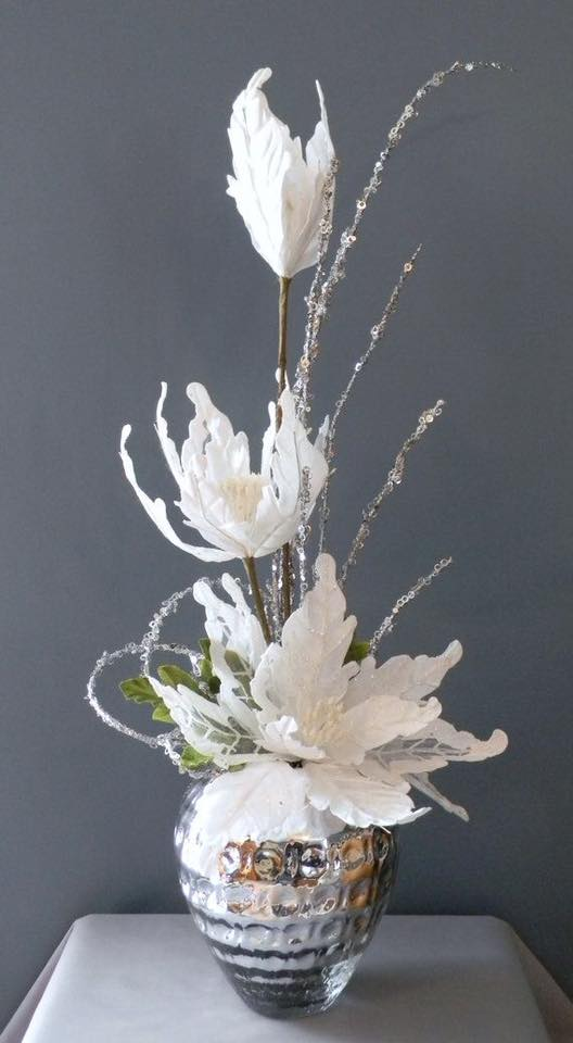 Flores Decorativas Navide Ef Bf Bdas