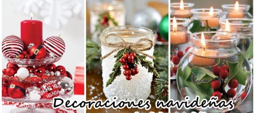 Decoraciones navide as para la mesa curso de - Decoracion de navidad para la mesa ...