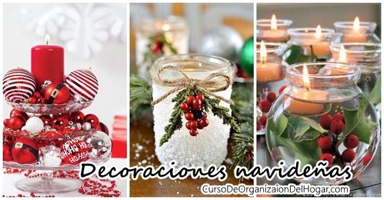 Decoraciones navide as para la mesa curso de organizacion del hogar y decoracion de interiores - Decoraciones navidenas manualidades ...